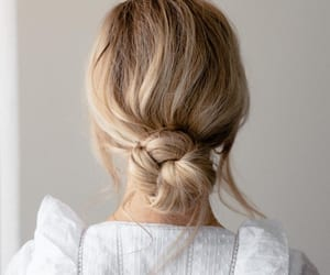 beauty, blonde, and bow image