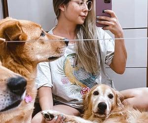 cachorro, dog, and girls image