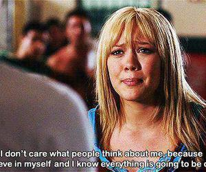 quotes, Hilary Duff, and text image
