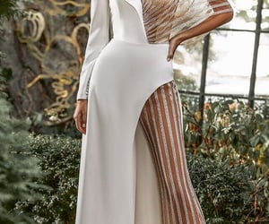 wedding dress and wedding gown image