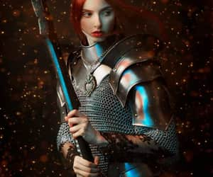 aesthetic, knight, and fantasy image