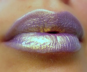holographic, lipgloss, and makeup image