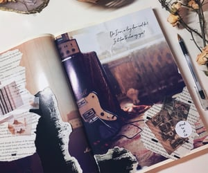 aesthetic, Collage, and journal image