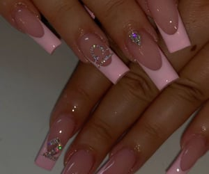 barbie, beauty, and fake nails image