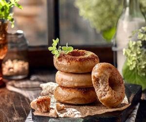 comida, delicioso, and donuts image