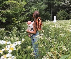 baby, garden, and goals image