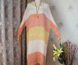 large size dress, women asymmetric dresses, and pleated dress image