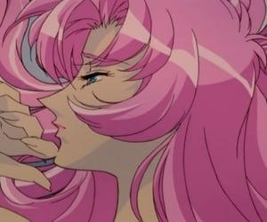 anime, pink, and sad image
