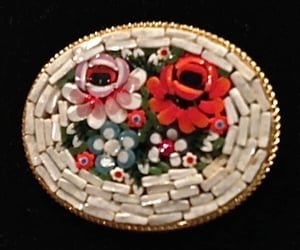 etsy, epsteam, and flower brooch image