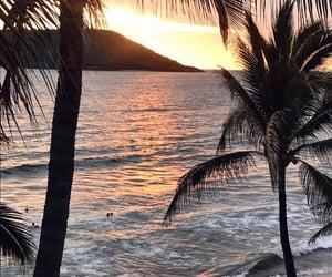 beach, trip, and beautiful image