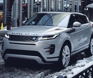SUV and range rover evoque image