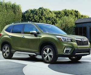 SUV, all wheel drive, and subaru forester image