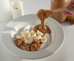 bowl, lovely, and breakfast image