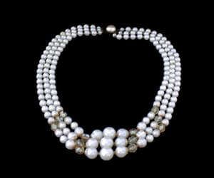 bridal jewelry, bridal necklace, and multi strand image