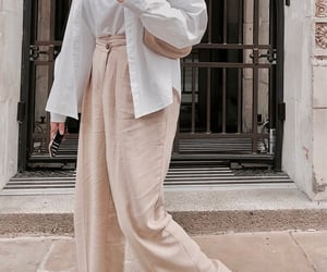 basic, beige, and chic image