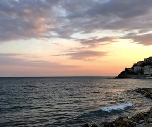 italy, nature, and sea image