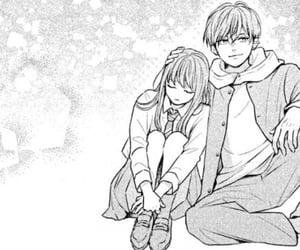 manga, monochrome, and shojo image