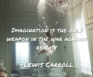 imagination, Lewis Carroll, and reality image