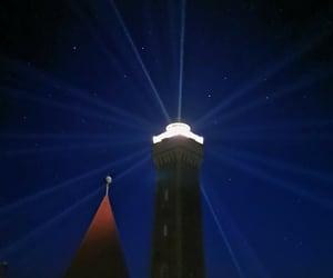 sky, light, and light house image
