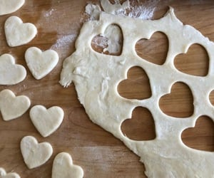 heart, baking, and Cookies image