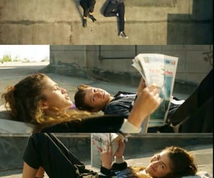 cine, spiderman, and couple image