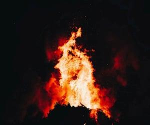 aesthetic, ashes, and blaze image