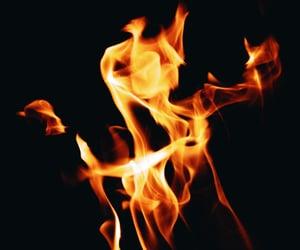aesthetic, blaze, and burning image