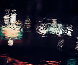 aesthetic, dark, and ripples image