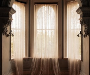 aesthetic, curtains, and sheer image