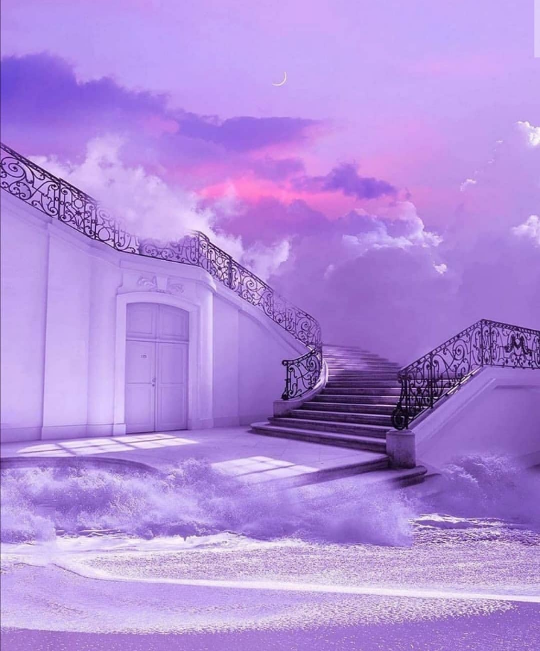 surreal, aesthetic, and vaporwave image