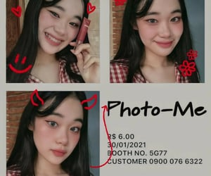 asian, ulzzang, and korean makeup image