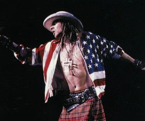 90's, axl rose, and hard rock image