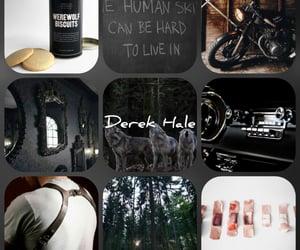 aesthetic, werewolf, and derek hale image