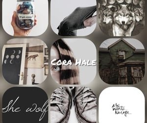 aesthetic, werewolf, and cora hale image