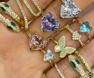 bling, bijoux, and jewelry image