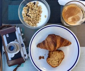 camera, petit dejeuner, and analog image