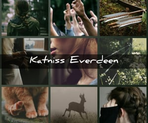 aesthetic, the hunger games, and katniss everdeen image