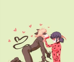 Chat Noir, couples, and love image