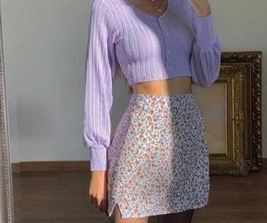 estilo, morado, and flores image