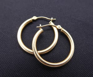 etsy, hollow, and hoops image