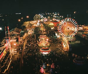 light, night, and carnival image