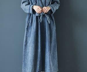 etsy, long sleeve dress, and fall dress image