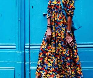 boho, dress, and fashion image