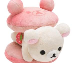 kawaii, plush, and strawberry image