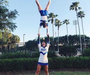 cheer, girl, and uniform image