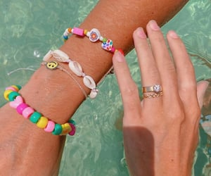 accessories, ring, and summer image