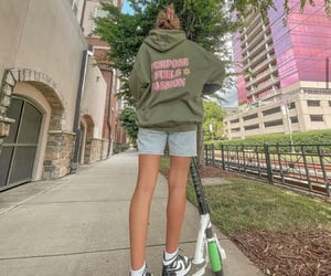 clothes, girl, and hoodie image
