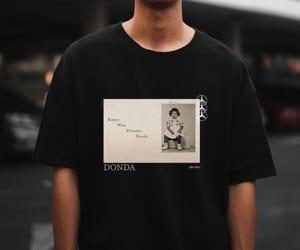 kanye west, shirt, and t shirt image