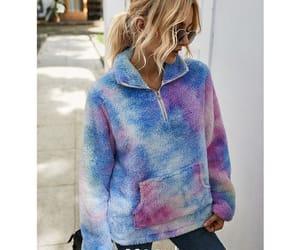 fashion, loose, and lapel image