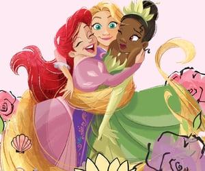 disney princess, tangled, and disney image
